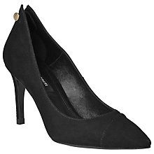 Buy L.K. Bennett Felicia Suede Court Shoes Online at johnlewis.com