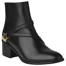 Buy L.K. Bennett Nell Calf Leather Ankle Boots Online at johnlewis.com
