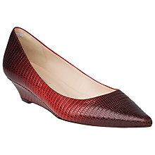 Buy L.K. Bennett Perla Leather Court Shoes Online at johnlewis.com