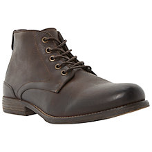 Buy Bertie Curfew Leather Ankle Boots Online at johnlewis.com