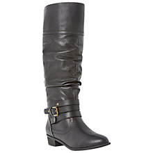 Buy Steve Madden Casstro Leather Knee High Boots Online at johnlewis.com