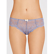 Buy COLLECTION by John Lewis Genevieve Briefs, Dusk Blue Online at johnlewis.com
