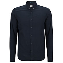 Buy Kin by John Lewis Cotton Dot Print Shirt, Navy Online at johnlewis.com
