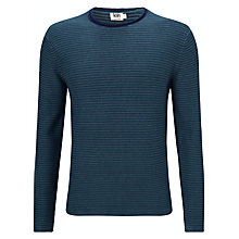 Buy Kin by John Lewis Two Colour Stitch Cotton Jumper Online at johnlewis.com