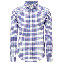 Buy John Lewis Cotton Table Check Shirt Online at johnlewis.com