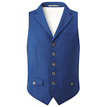Buy JOHN LEWIS & Co. Abraham Moon Collared Waistcoat Online at johnlewis.com