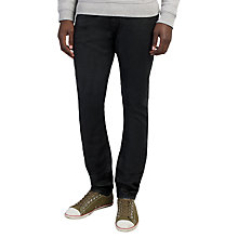 Buy Diesel Tepphar 0663Q Coated Slim Jeans, Black Online at johnlewis.com