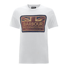 Buy Barbour Antique Flag T-Shirt Online at johnlewis.com