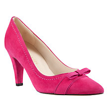 Buy Peter Kaiser Vermala Suede Court Shoes, Pink Online at johnlewis.com