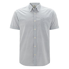 Buy Barbour Greatcoat Lockhead Print Short Sleeve Shirt, White Online at johnlewis.com
