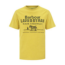 Buy Barbour Laundryman Shire Horse Print T-Shirt Online at johnlewis.com
