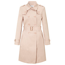 Buy John Lewis Trench Coat, Pink Online at johnlewis.com
