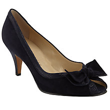 Buy Peter Kaiser Satyr Peep Toe Suede Court Shoes Online at johnlewis.com
