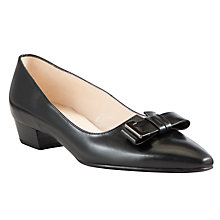 Buy Peter Kaiser Lysan Leather Block Heeled Pumps Online at johnlewis.com