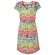 Buy Collection WEEKEND by John Lewis Brush Mark Dress, Multi Online at johnlewis.com