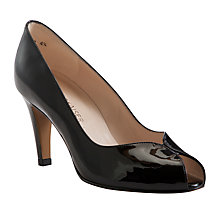 Buy Peter Kaiser Sevilla Peep Toe Leather Court Shoes Online at johnlewis.com