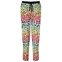 Buy Collection WEEKEND by John Lewis Brush Mark Print Trousers, Multi Online at johnlewis.com