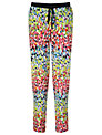 Collection WEEKEND by John Lewis Brush Mark Print Trousers, Multi