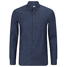 Buy Kin by John Lewis End on End Chambray Shirt, Indigo Online at johnlewis.com