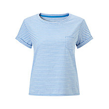 Buy Collection WEEKEND by John Lewis Triple Stripe Crop T-Shirt Online at johnlewis.com