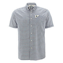 Buy Barbour Laundryman Laundered Short Sleeve Stripe Shirt Online at johnlewis.com