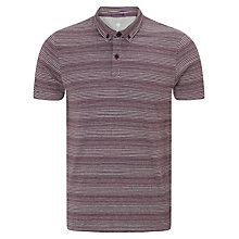 Buy Kin by John Lewis Striped Button Down Polo Shirt Online at johnlewis.com
