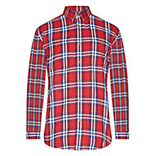 Buy Barbour International Brit Check Shirt, Red Online at johnlewis.com