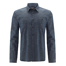 Buy Barbour International Hawk Shirt, Dark Blue Online at johnlewis.com