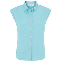Buy John Lewis Embroidered Sleeveless Shirt Online at johnlewis.com
