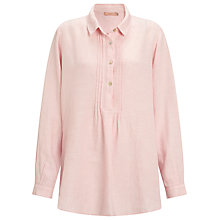 Buy John Lewis Pintuck Linen Shirt Online at johnlewis.com
