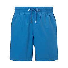 Buy John Lewis Plain Cotton Mix Swim Shorts Online at johnlewis.com