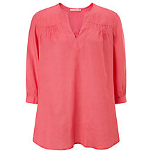 Buy John Lewis Popover Linen Tunic Online at johnlewis.com