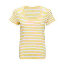 Buy John Lewis Triple Trim Scoop Neck T-Shirt Online at johnlewis.com