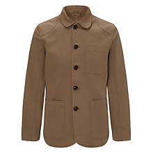 Buy JOHN LEWIS & Co. Garment Dye Work Wear Jacket Online at johnlewis.com
