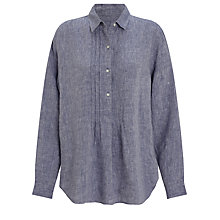 Buy John Lewis Pintuck Linen Tunic Online at johnlewis.com