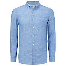 Buy John Lewis End on End Linen Shirt Online at johnlewis.com