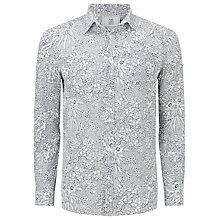 Buy John Lewis Rio Geo Print Shirt, White Online at johnlewis.com