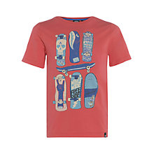 Buy Animal Boys' Helter Skateboard Graphic Print T-Shirt Online at johnlewis.com