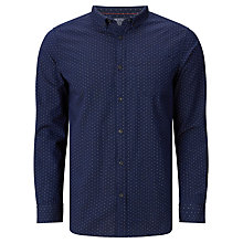 Buy John Lewis Polka Dot Cotton Shirt, Indigo Online at johnlewis.com
