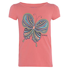 Buy Animal Girls' Abamma Graphic Print T-Shirt, Pink Online at johnlewis.com