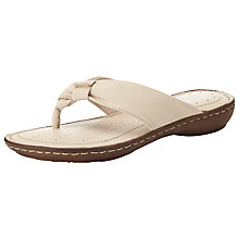 Buy John Lewis Highgate Thong Leather Sandals Online at johnlewis.com
