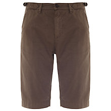 Buy Barbour Laundryman Laundered Shorts, Olive Online at johnlewis.com
