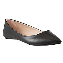 Buy John Lewis Grapefruit Flat Ballerina Pumps Online at johnlewis.com