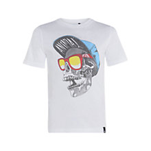Buy Animal Boys' Hipsta T-Shirt, White Online at johnlewis.com