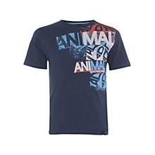 Buy Animal Children's Hallet Graphic Print T-Shirt, Indigo Online at johnlewis.com