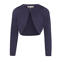 Buy John Lewis Girl Buttoned Shrug Online at johnlewis.com