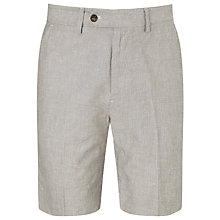Buy John Lewis Smart Linen Stripe Shorts Online at johnlewis.com