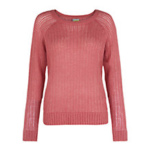 Buy Hobbs Patsy Jumper, Blush/Pink Online at johnlewis.com