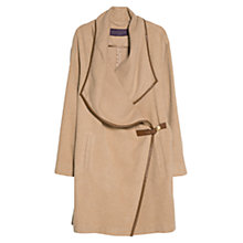 Buy Violeta by Mango Waterfall Buckle Coat Online at johnlewis.com