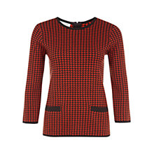 Buy Hobbs Maddie Jumper, Choc Pumpkin Online at johnlewis.com